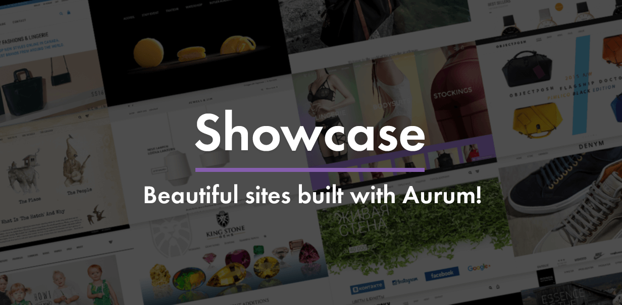 Aurum Showcase