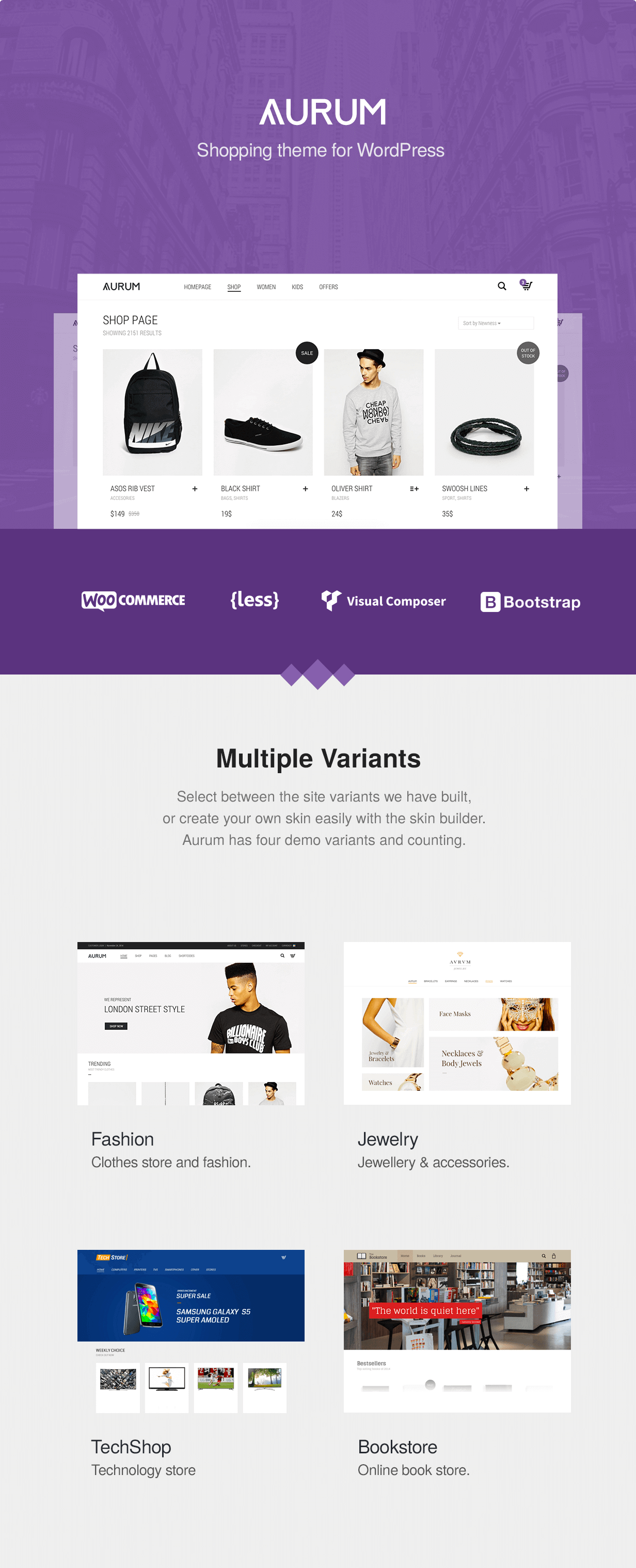 Aurum - Minimalist Shopping Theme - 5