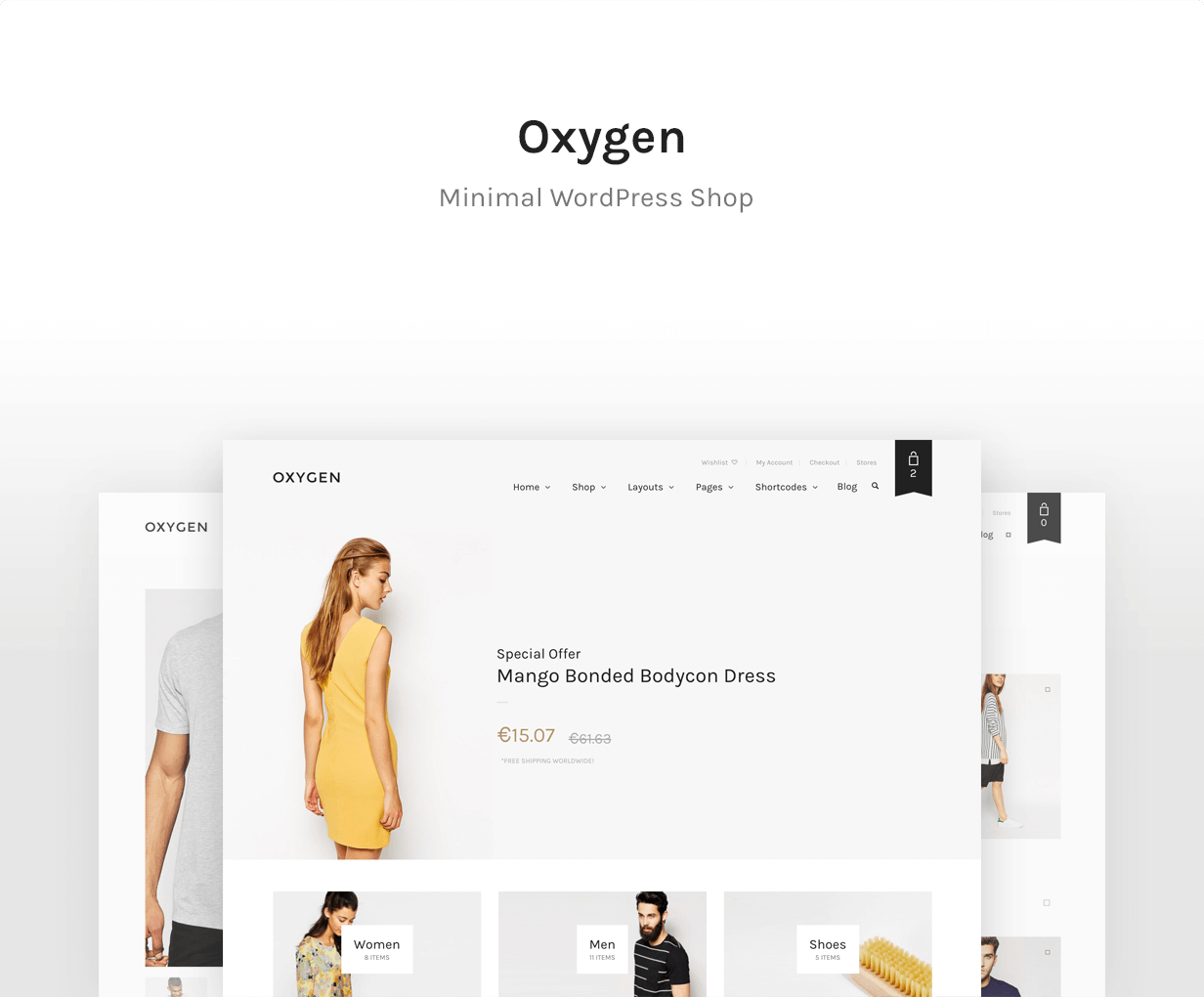 Oxygen — Best WooCommerce theme