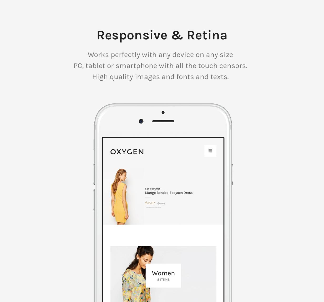 Responsive and Retina