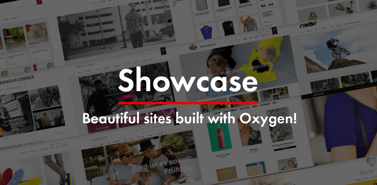 Oxygen Showcase