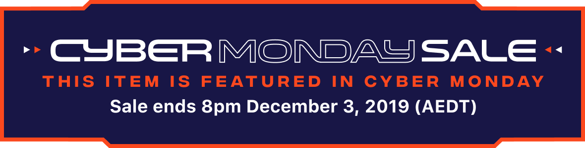 Cyber Monday and Black Friday Sale