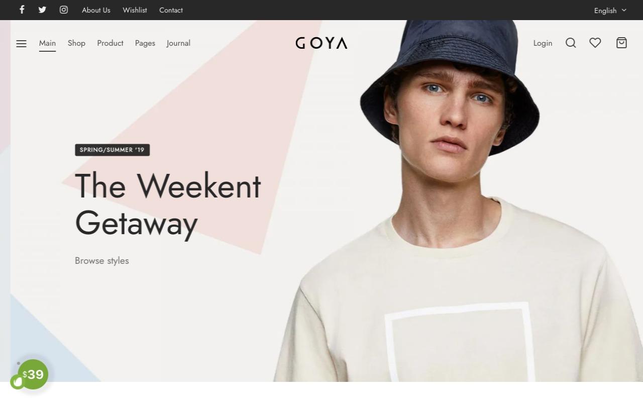 Goya Theme