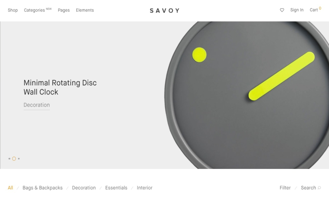 Savoy Theme