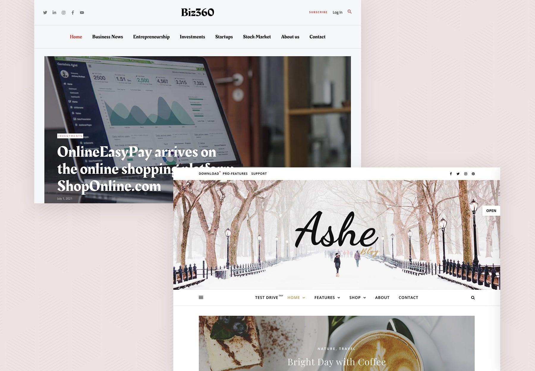 Best Free Blog WordPress Themes