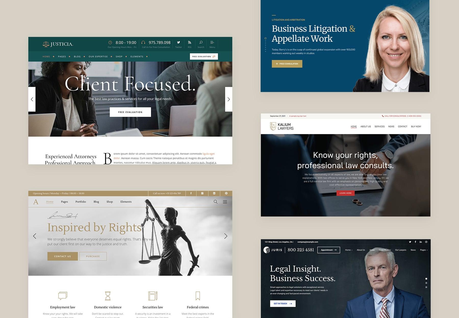 Best Lawyer WordPress Themes